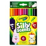 Crayola Silly Scent 6 Chisel Tip Washable Markers