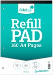 Refill Pad A4 160 Page Dot Grid Silvine