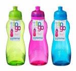Sistema Water Bottle Twist Wave 600ml