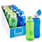 Smash Drinks Bottle 330ml in a choice of Blue or Green