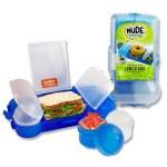 Smash Rubbish Free Lunch Box Set Bright Blue
