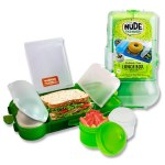 Smash Rubbish Free Lunch Box Set Bright Green
