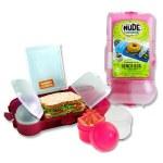 Smash Rubbish Free Lunch Box Set Bright Pink