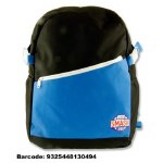 Smash School Bag Black Blue