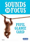 Sounds In Focus Pupil Glance Card 1st to 6th Class Prim Ed