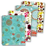 Spiral Refill Pad A5 160 Pg Marlene West Silvine