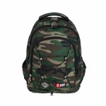 St Right School Bag 17IN Army 24 Litres