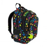 St Right School Bag 17IN Game Over 22 Litres