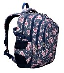 St Right School Bag 17IN Roses 23 Litres