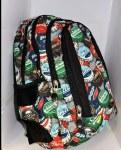 St. Right School Bag Bottlecaps 26 Litres
