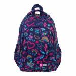 St Right School Bag Junior 15IN Neon