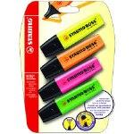 Highlighters 4 Pack Stabilo Original