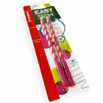 Stabilo Easy Start Pencils HB Right Handed 2 Pack Pink