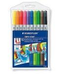 Norus Double Tip Fibre Tip Pens 10 Pack Staedtler