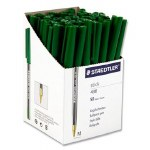 Pens Staedtler Box of 50 Green