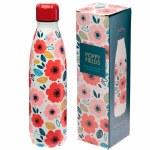 Stainless Steel Bottle 500ml Poppy