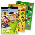 Emotionery Sticker Book Sports