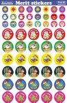 Merit Sticker Pack of 270 Christmas Prim Ed