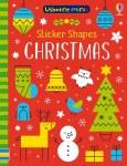 Usborne Mini Sticker Shapes Christmas