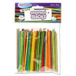 Crafty Bitz Assoretd Coloured Sticks