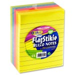 Stik-ie Block 450 Ruled Stikie Notes 76mmx100mm