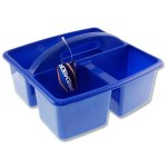 Multifunctional Storage Basket Blue
