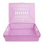 Heavy Duty A4 File Storage Pastel Wild Orchid