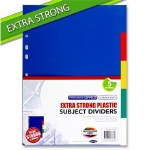 Dividers 5 Part Extra Strong Premier