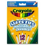 Markers 12 Pack Supertips Crayola