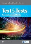 Text and Tests Foundation Level Leaving Cert Maths The Celtic Press