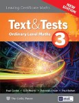 Text and Tests 3 Maths Leaving Cert Ordinary Level NEW Edition Celtic Press
