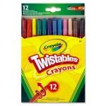 Crayons Twistables 12 Pack Crayola