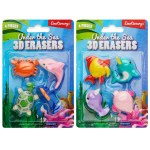 Emotionery Erasers Under The Sea 4 Pack