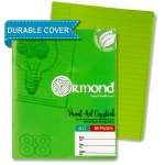 Ormond A11 Visual Memory Aid Plastic Cover Writing Copy Green