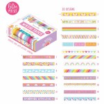 Dovecraft Washi Tape Box 20 Bright