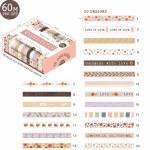 Dovecraft Washi Tape Box 20 Pastel