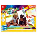World Of Colour Water Doodle Mat & 2 Water Markers