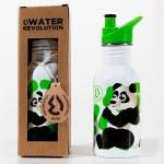Water Revolution Water Bottle Panda 500ml