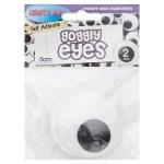 Crafty Bitz Giant Wiggle Eyes 5cm 2 Pack