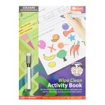 Ormond A4 Wipe Clean Activity Book Colours & Shapes 14pg