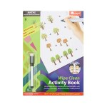 Ormond A4 Wipe Clean Activity Book Maths & Counting 14pg