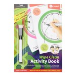 Ormond A5 Wipe Clean Activity Book Time 22pg