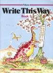 Write This Way Book 3  Senior Infants Folens