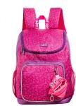 Zip It School Bag Premium With Free Mini Pouch Pink