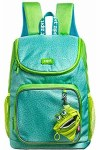 Zip It School Bag Premium Green With Free Mini Pouch Green