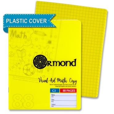 Ormond A11 Visual Memory Aid Plastic Cover Yellow Maths C3
