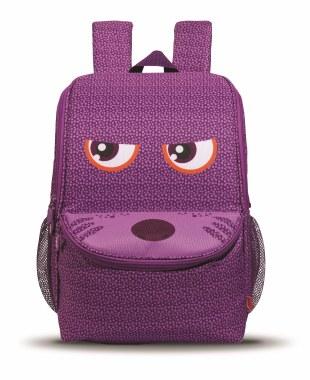 Zip It School Bag Wildings Purple