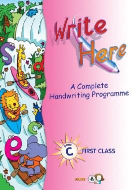 Write Here C Handwriting 1st Class Folens