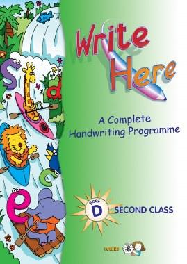 Write Here D Handwriting 2nd Class Folens