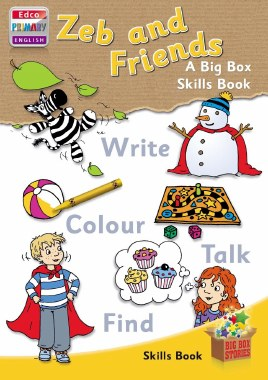 Zeb And Friends Skills Book Senior Infants Big Box Scheme Ed Co